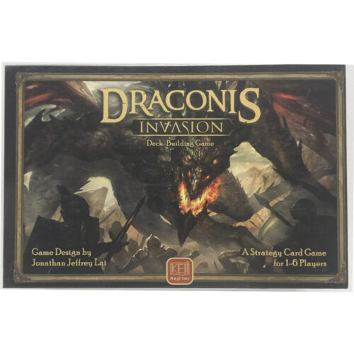 Draconis el juego de mesa editado inglés por Keji Inc. Comprar Draconis Invasion en EGD Games