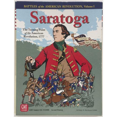 Saratoga el juego de mesa editado en inglés por GMT Games. Comprar Saratoga en EGD Games