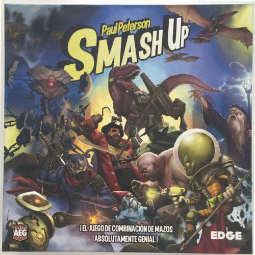 Smash Up el juego de mesa editado en castellano por Edge Entertainment. Comprar Smash Up en EGD Games